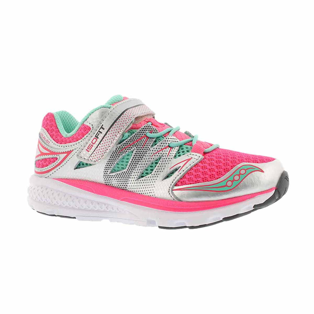 Girls' ZEALOT 2 silver/turquoise/pink