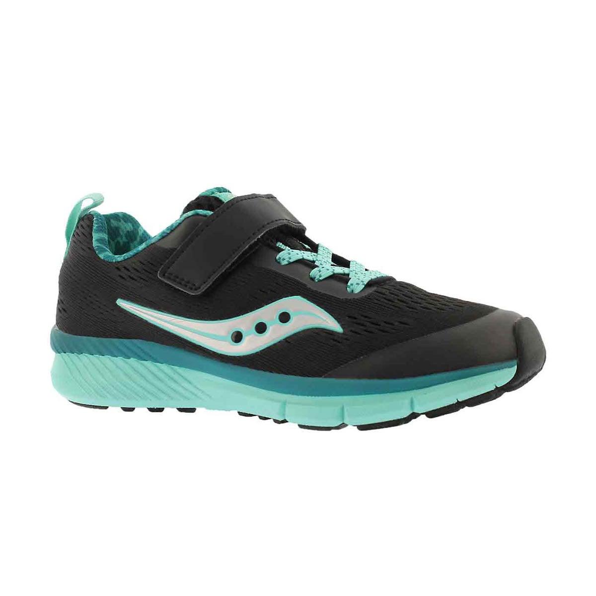 Grls Ideal AC blk/trqs running shoe