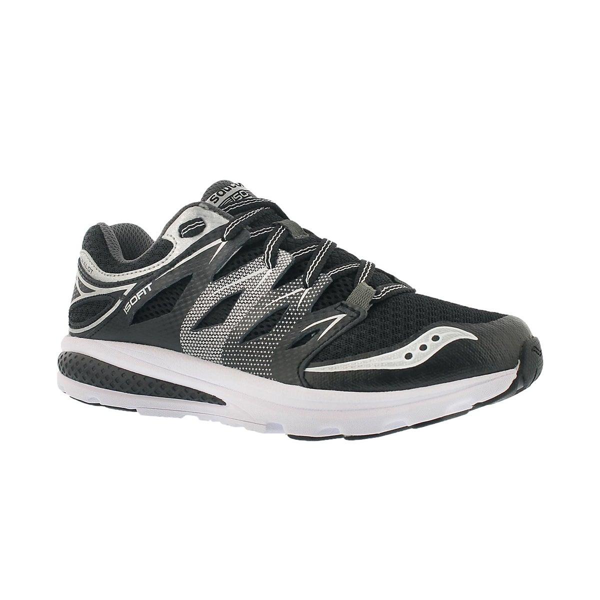 Boys' ZEALOT 2 black lace up running shoes