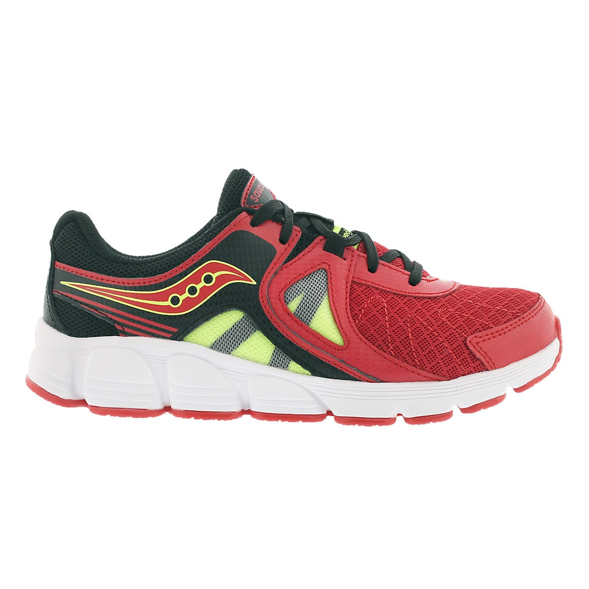 Bys Kotaro 3 red/blk lace up runner