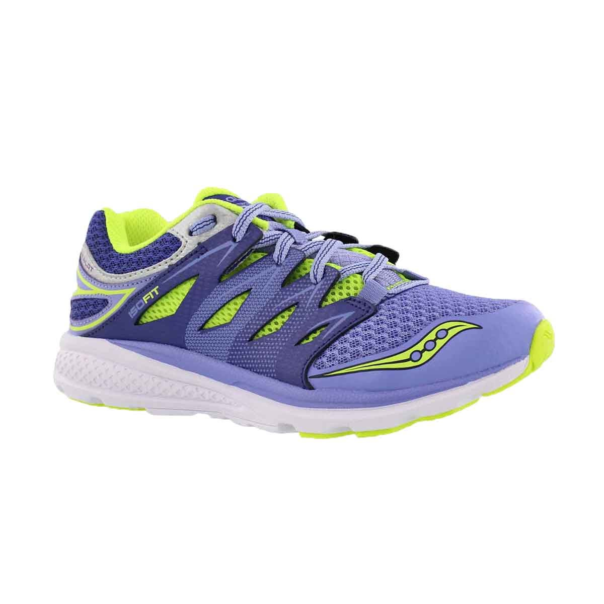 Girls' ZEALOT 2 purple/blue running shoe