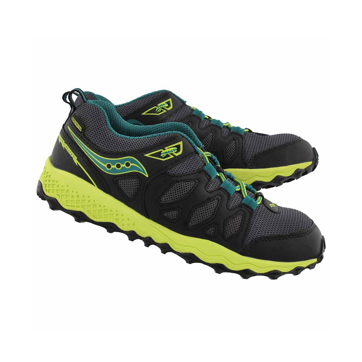 Bys PeregrineShield blk/lime runner