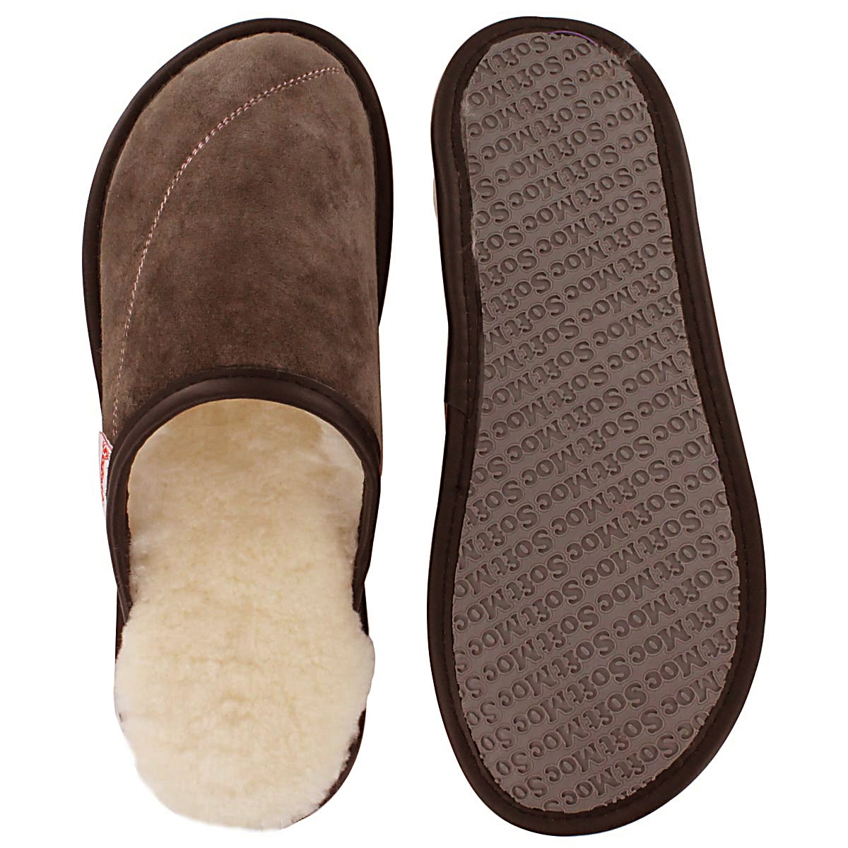 Lds Scuff chocolat washable open back