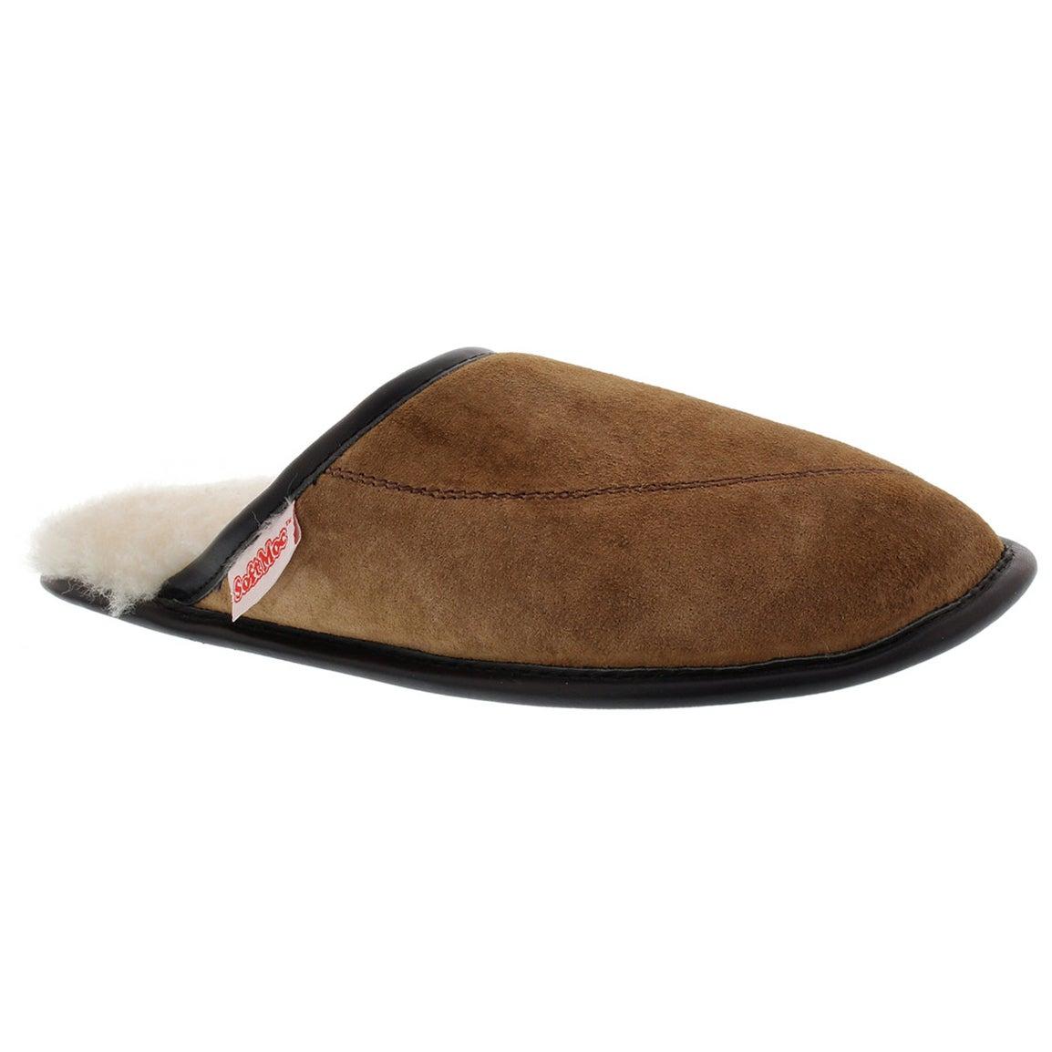 Women's SCUFF spice washable sheepskin slippers