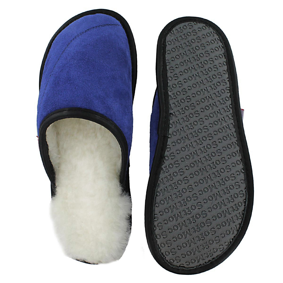 Lds Scuff blue washable open back