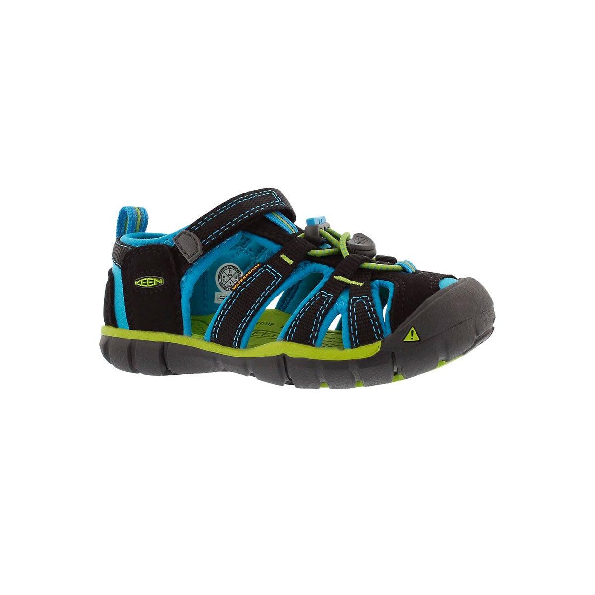 Infants' SEACAMP II black/blue sport sandals
