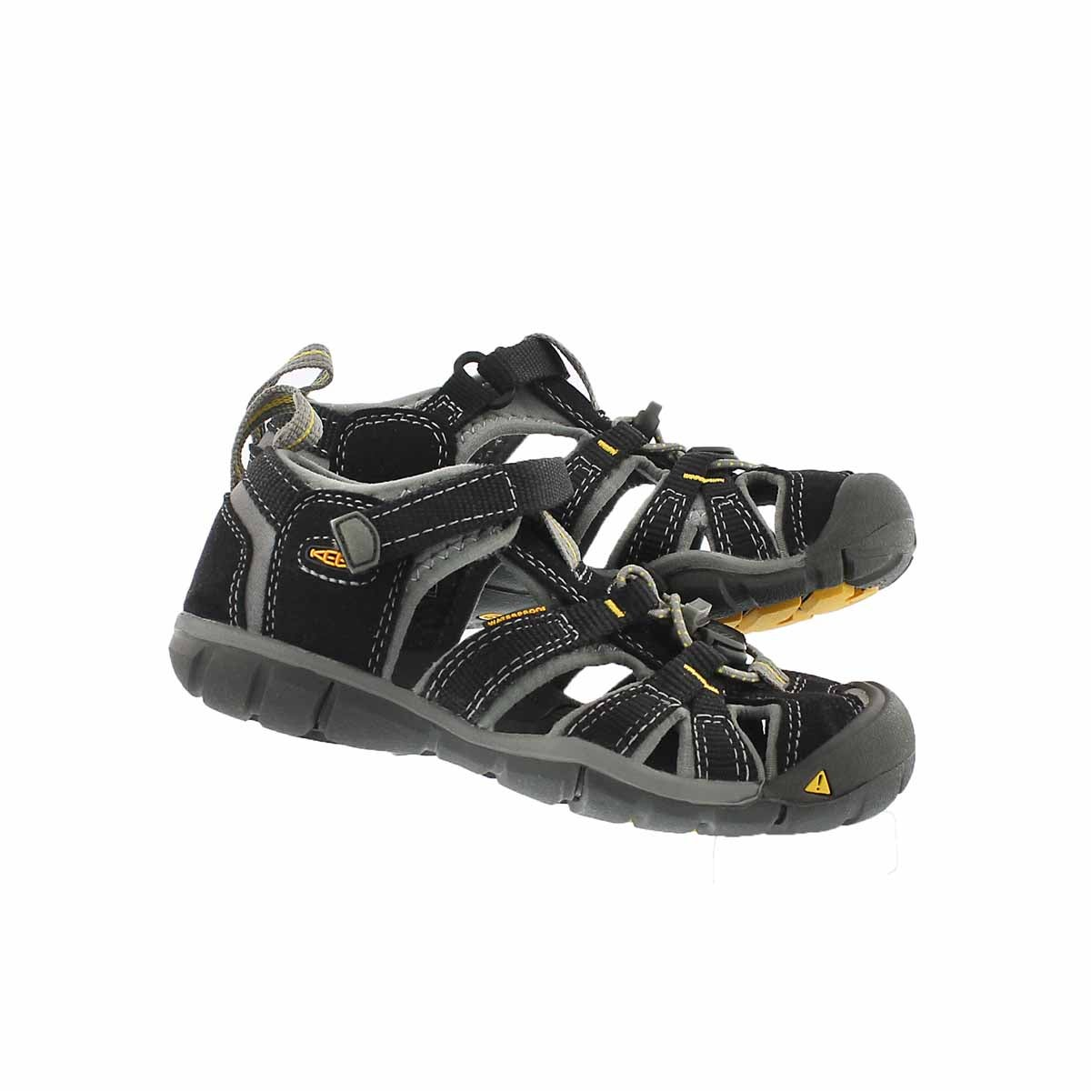 Infs-b Seacamp II black sport sandal
