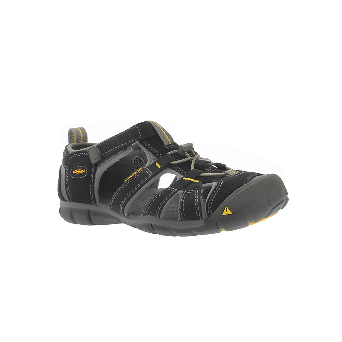 Infants' SEACAMP II black sport sandals