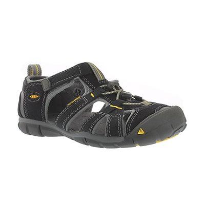 Bys Seacamp II black/yellow sport sandal