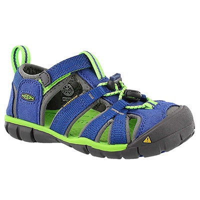 Keen Sandales sport SEACAMP II, bleu/vert, bébés
