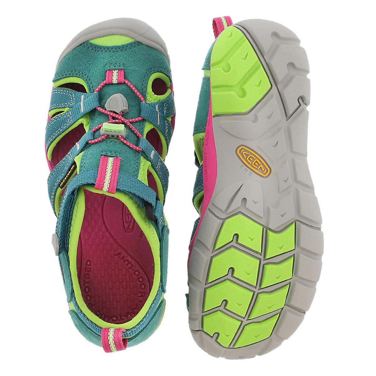 Grls Seacamp II everglade sandal