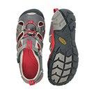 Bys Seacamp II grey/red sport sandal