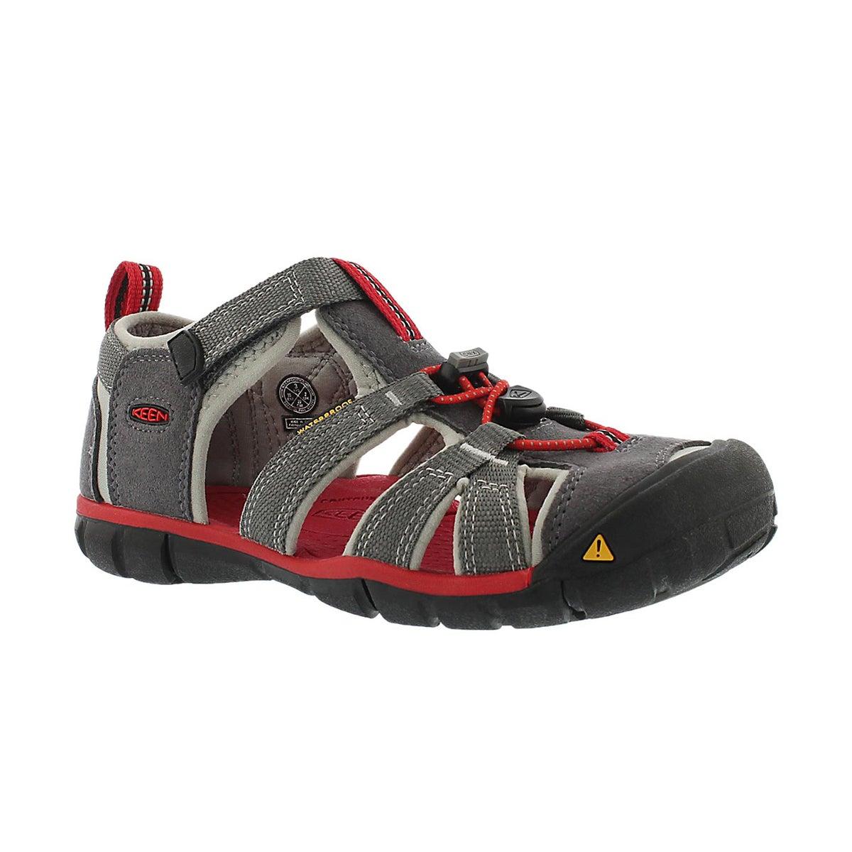 Sandale sport SEACAMP II, gris/rge, garç