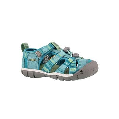 Infs-g Seacamp lI pstl turq raya sandal