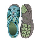 Grls Seacamp lI pstl turq raya sandal