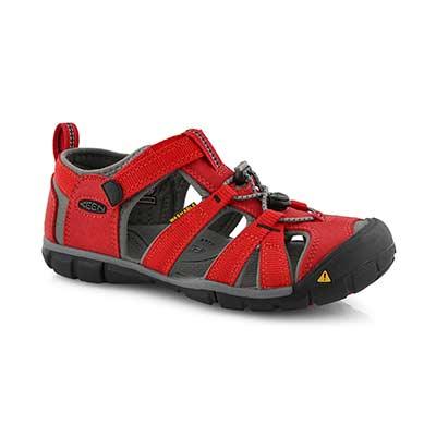Bys Seacamp II red/gry sport sandal
