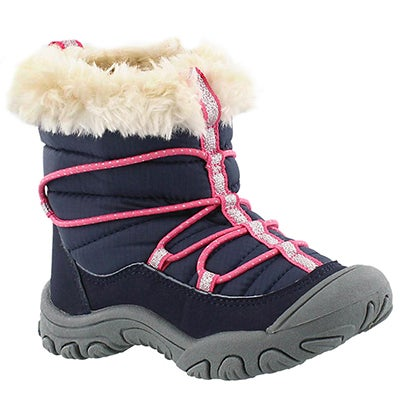 MAP Infants' SEQUOIA navy/ pink casual boots