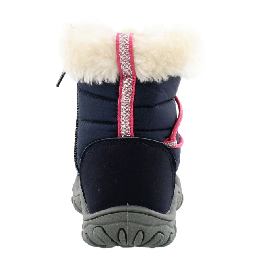 Infs Sequoia navy/ pink casual boot