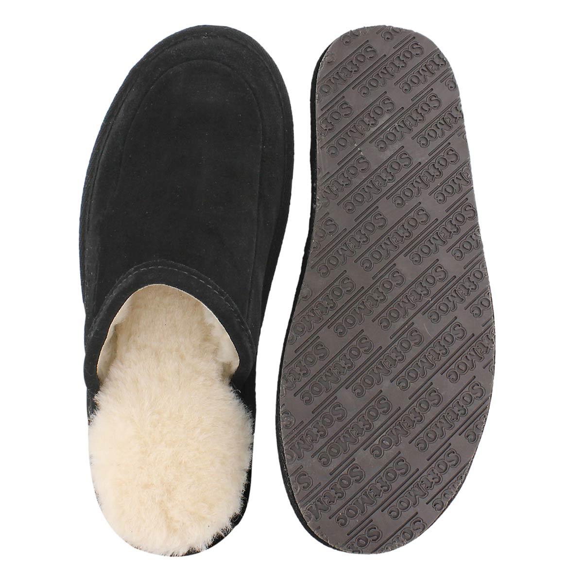 Pantoufles Seth noir, hommmes