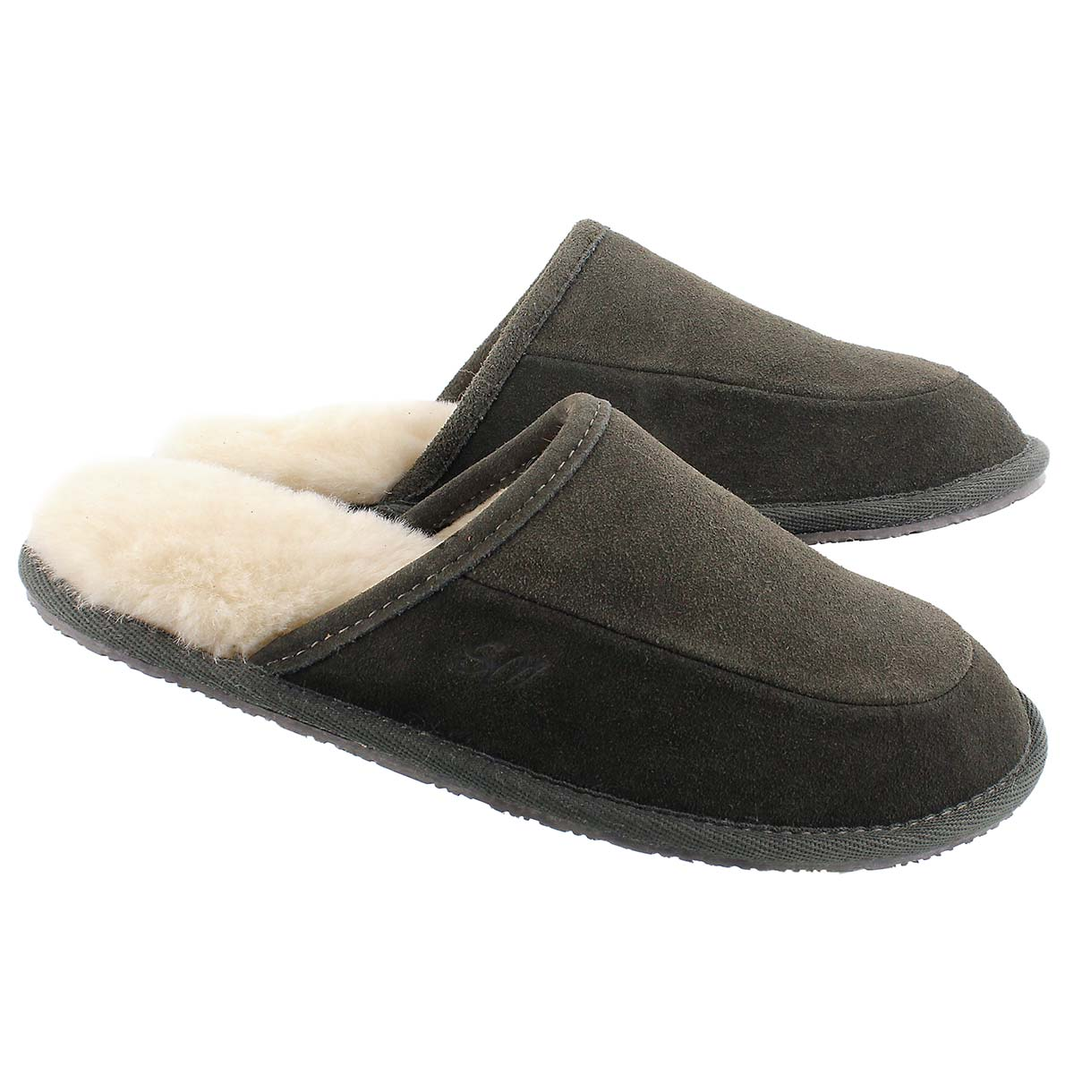 Mns Seth grey mem. foam slipper
