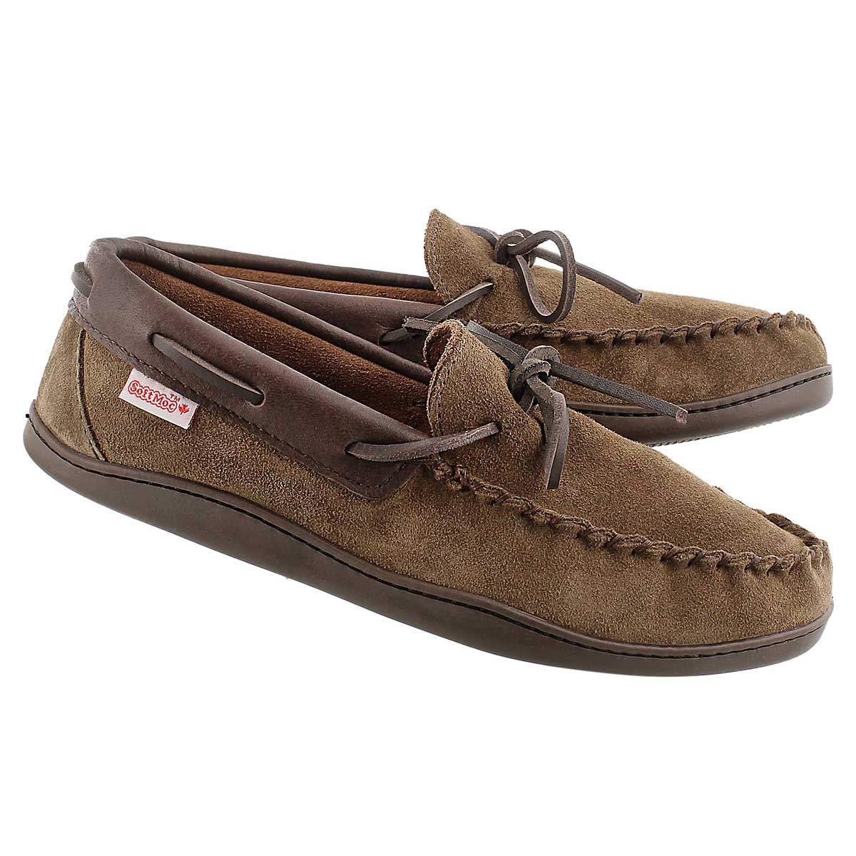 Mns smoke brown moccasin