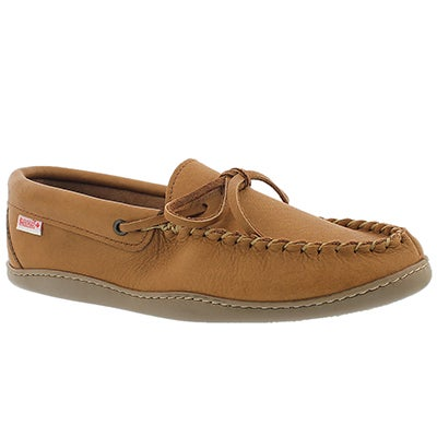 SoftMoc Men's SF41473 tan moose hide moccasins