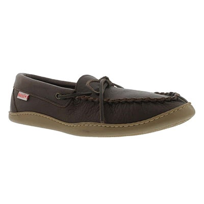 SoftMoc Mocassins en peau d'orignal SF41473, fudge, hommes