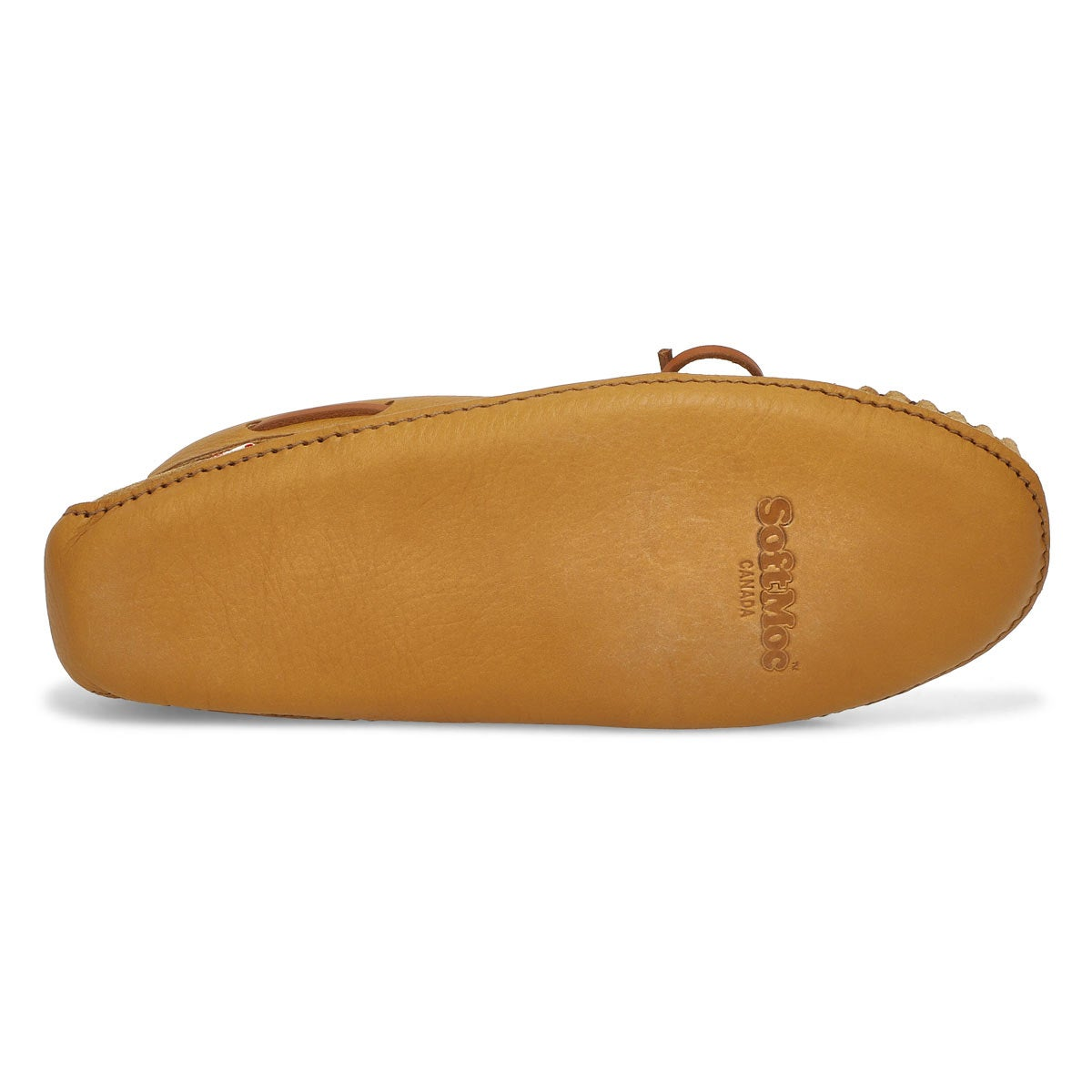 Mocassins mousse visco., havane, hommes