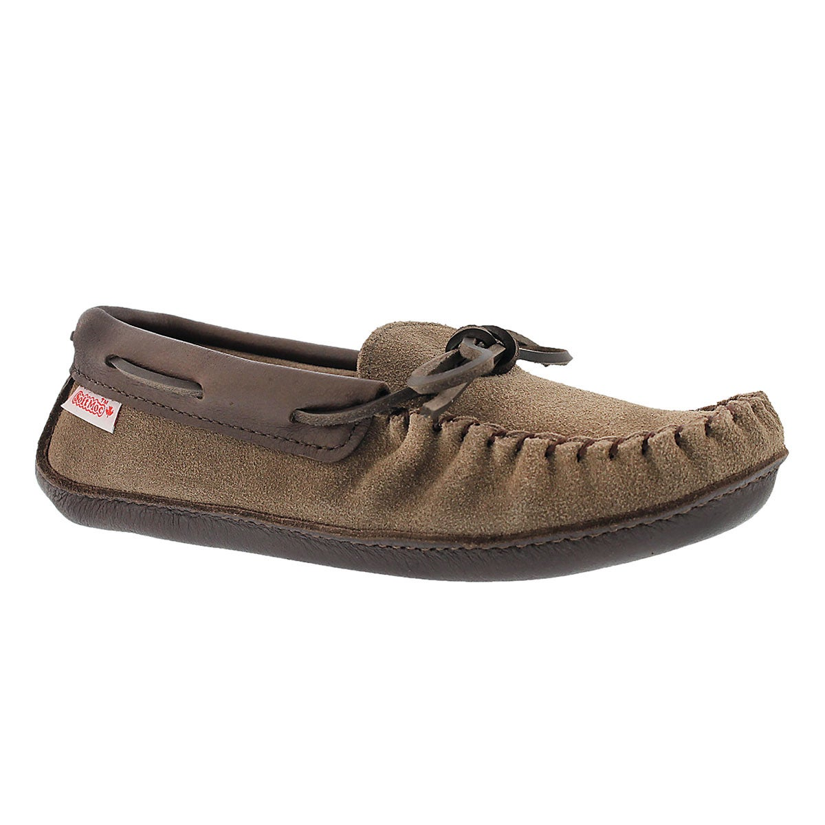 Women's SF78 smoke memory foam moccasins