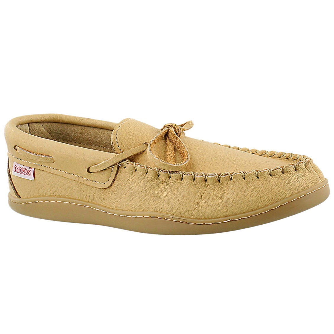 Men's SFKB841 natural moose moccasins