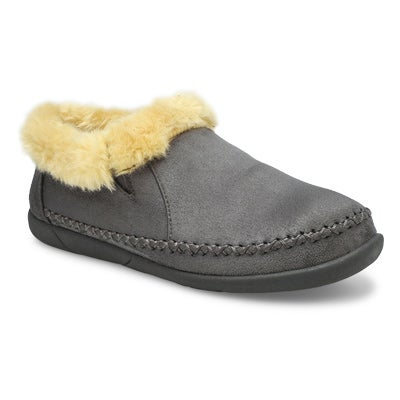 SoftMoc Women's SHAE charcoal slip on booties