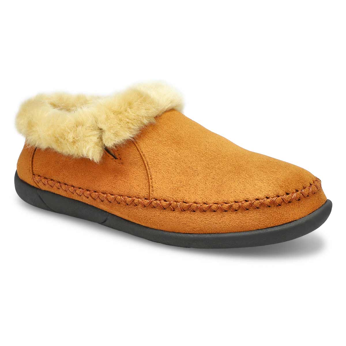 Women's SHAE camel slip on booties