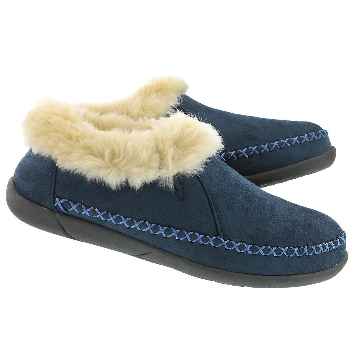 Lds Shae navy slip on bootie