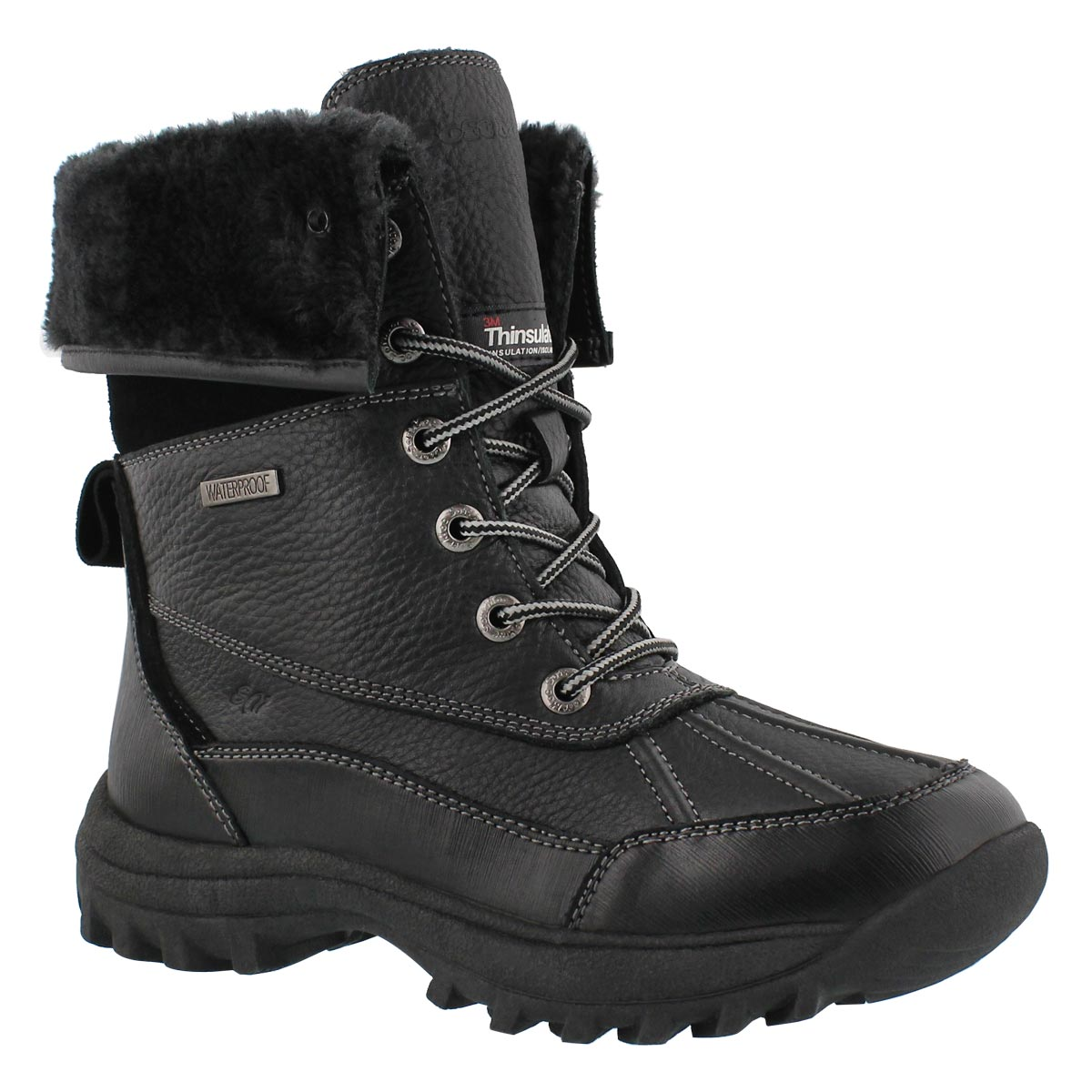 Women's SHAKIRA 2 black waterproof boots