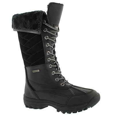 Lds Shakira Tall blk wtpf winter boot
