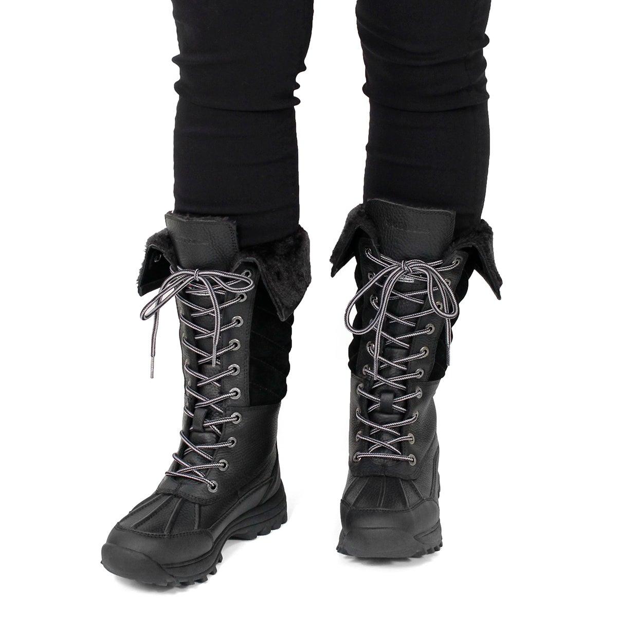 Lds Shakira Tall blk wtpf winter boot