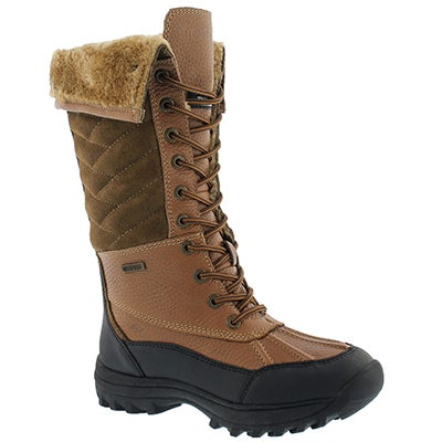 Lds Shakira Tall peanut wtpf winter boot