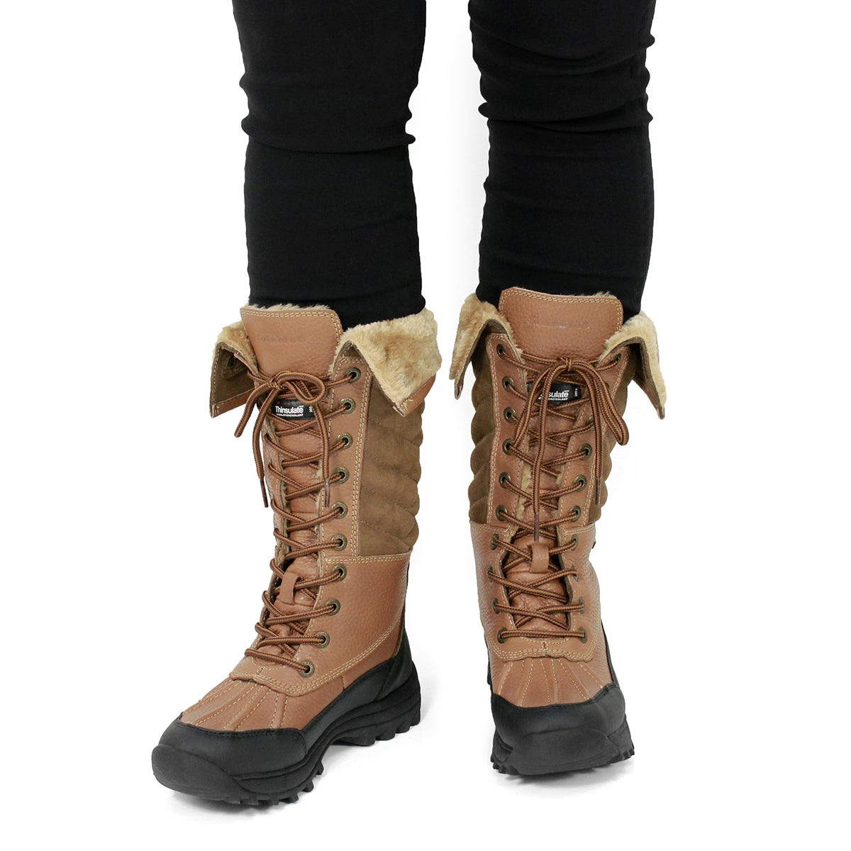 Lds Shakira Tall peanut wtpf winter boot