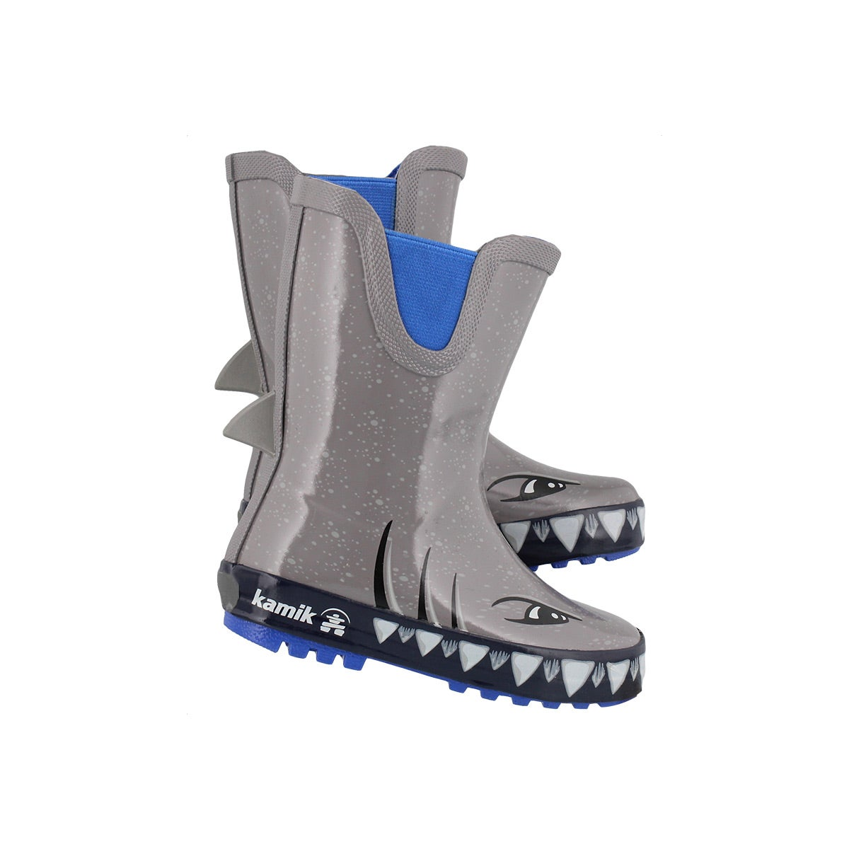 Infs-b Sharky grey wtpf rain boot