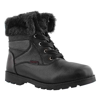Lds Shayla 2 blk wtrpf folding cuff boot