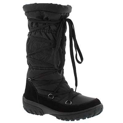 Superfit Women's SHAYNE black waterproof tall winter boots