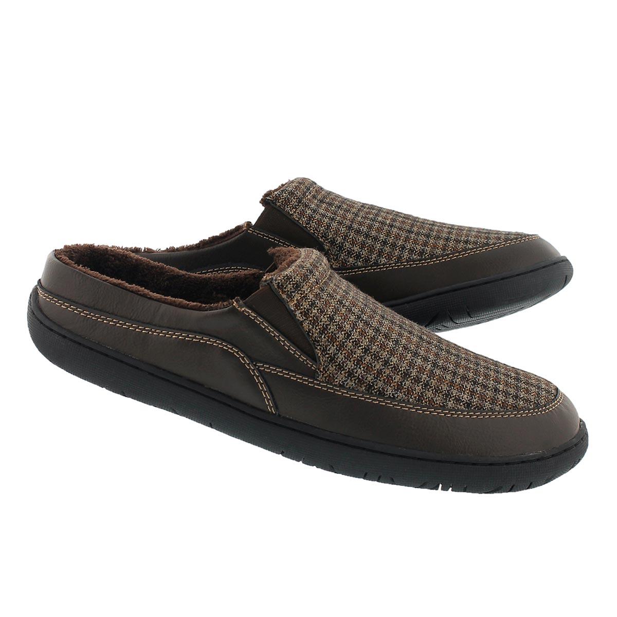 Mns Sheldon brown pld open back slipper