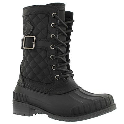 Lds Sienna black waterproof winter boot