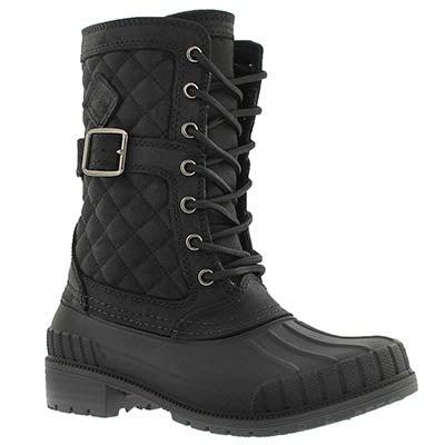 Kamik Women's SIENNA black waterproof winter boots