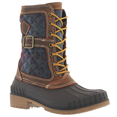 Kamik Women's SIENNA dark brown waterproof winter boots