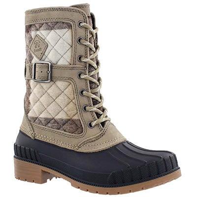 Kamik Women's SIENNA taupe waterproof winter boots