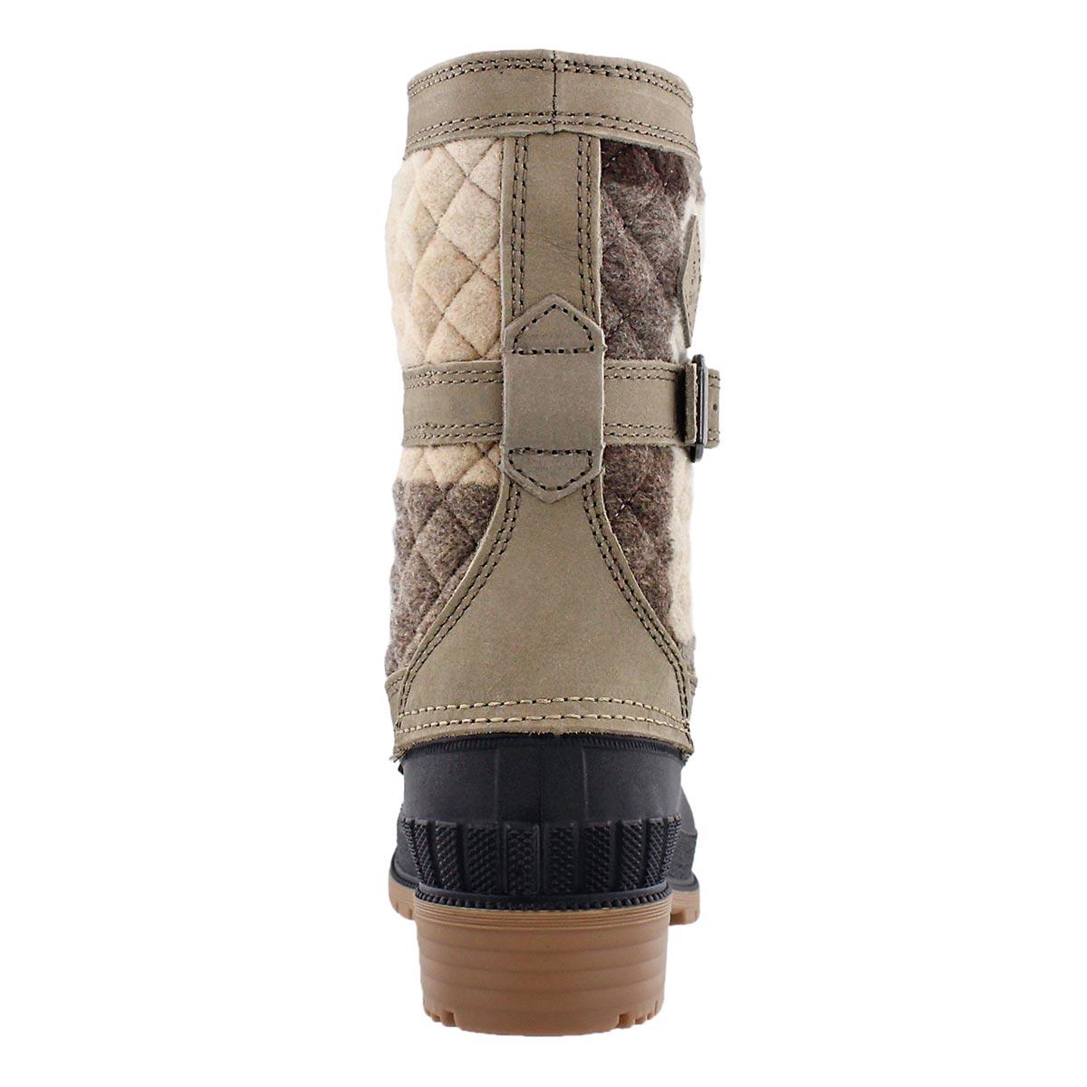 Lds Sienna taupe waterproof winter boot