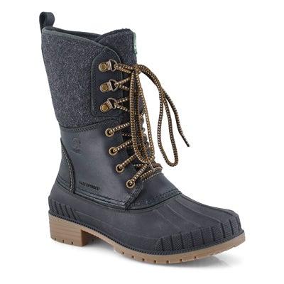 Lds Sienna2 black waterproof winter boot