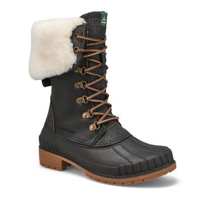 Lds SiennaF2 black wtpf snow boot