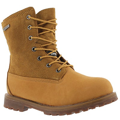 Lds Sierra wheat nubuck W/P casual boot